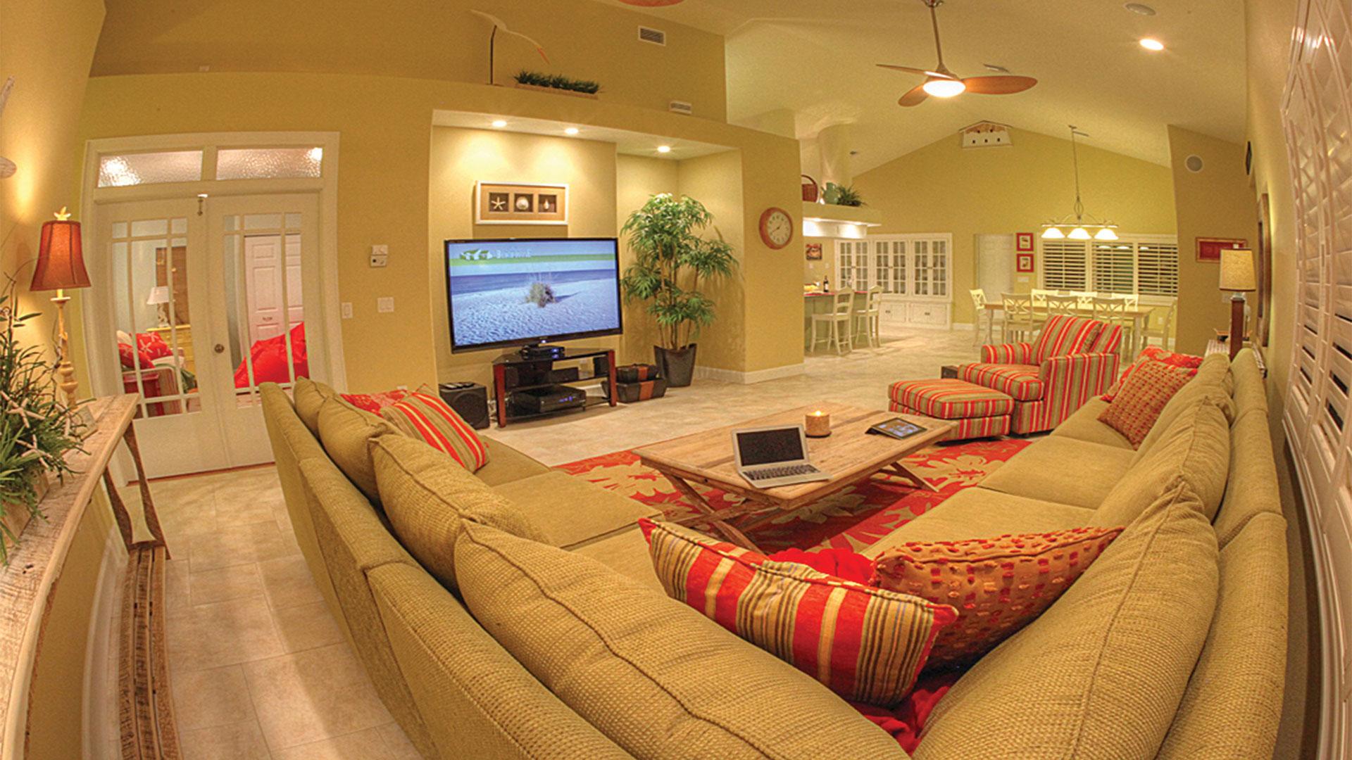 AMI Beach House Living Room